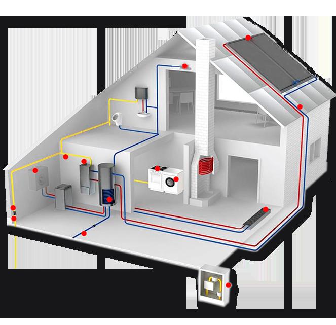 Instalador agua gas electricidad calefaccion | construcaste